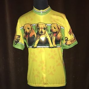 Primal Puppy Love Woman's Large Cycling Jersey